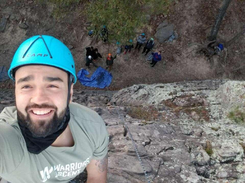 PAL rock climbing